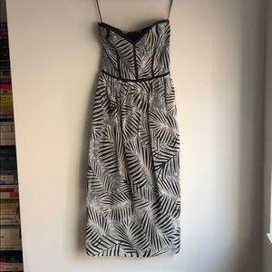 Parker strapless dress - size S